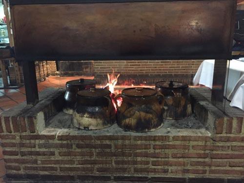 El cocido madrileño de El Pajar de Fuente Hernando